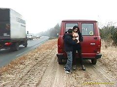 Страхотна количка за секс с просторен багажником порно на руски клипове